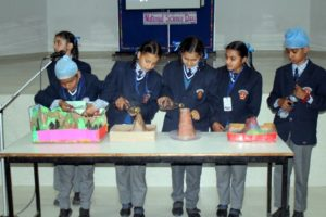 Indus Public School Organised Sci-maths Exhibition on National Science Day