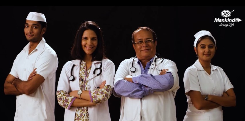 Mankind Pharma prays for well being of Doctors&medical staffs in latest campaign