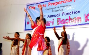 Annual Day Function of Tiny Tots Preparatory School Chandigarh