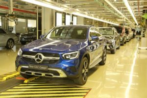 Mercedes-Benz today launched the 'Made in India' GLC Coupé