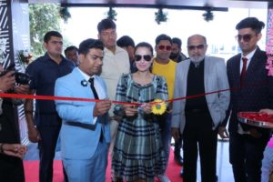 Amisha Patel and Tinu Anand Launch 'Magnificent Films Production' In Mohali