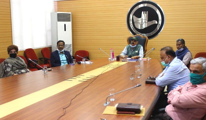 ADMINISTRATOR REVIEWS ARRANGEMENTS MADE IN THE CITY