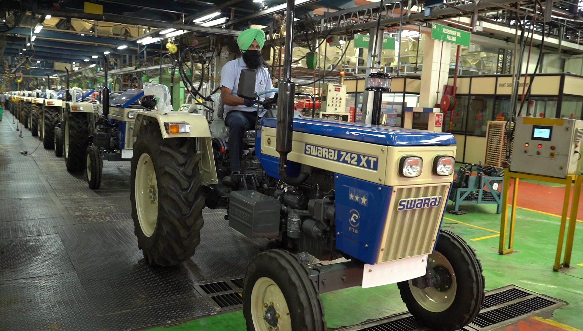 Statement from Mr Hemant Sikka on the M&M Tractor plant opening at Mohali