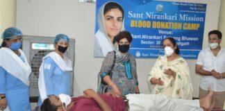 175 Nirankari devotees donate blood during COVID-19