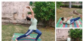 DSCW's online session underlines yoga's capability to keep COVID at bay