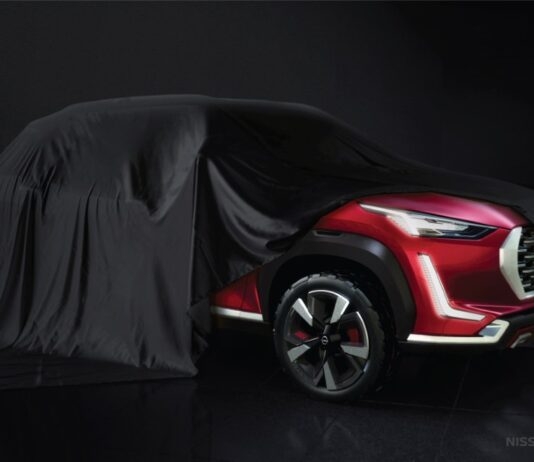 Glimpses of Nissan's new B-SUV
