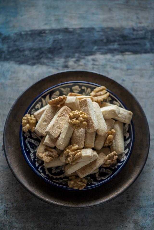 Walnuts & Indian Sweets