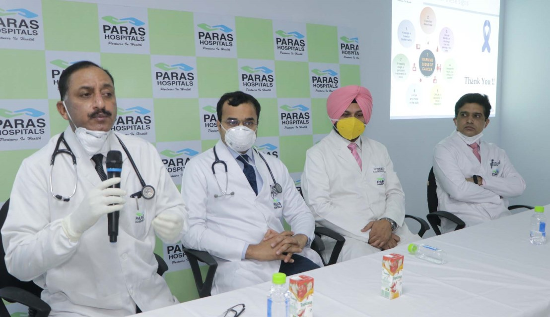 1.25 lac oral cancer cases every year in India-Dr Rajan Sahu