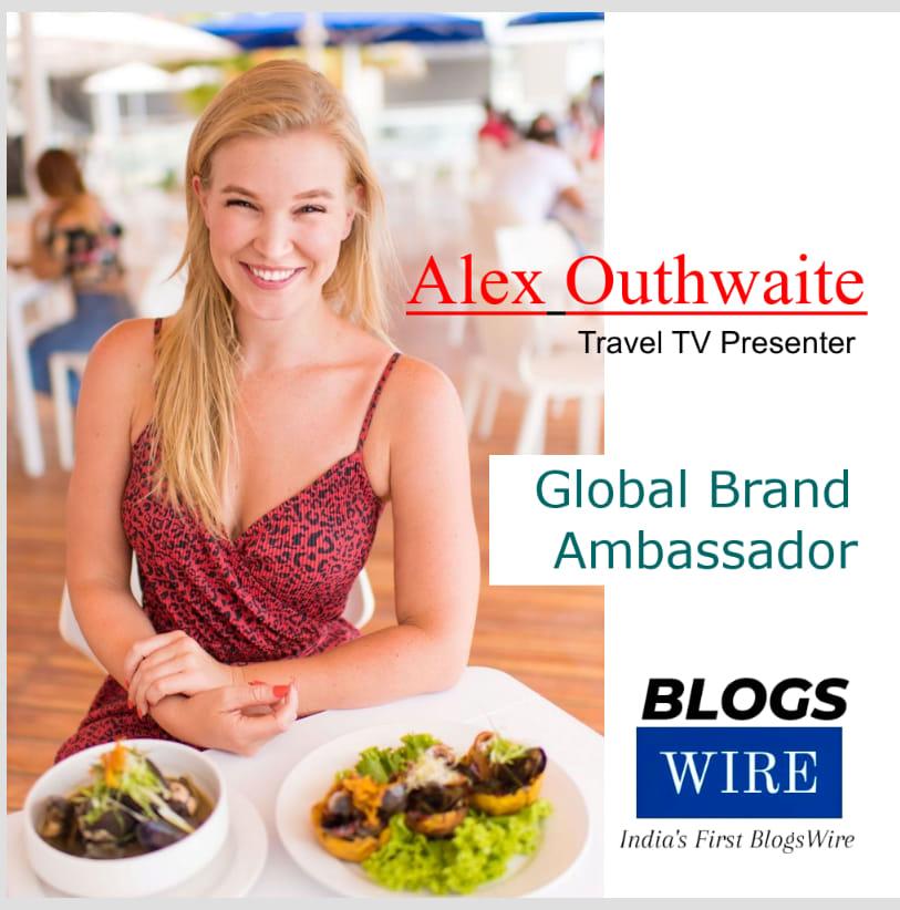 Alex Outhwaite becomes Global Brand Ambassador of BlogsWire