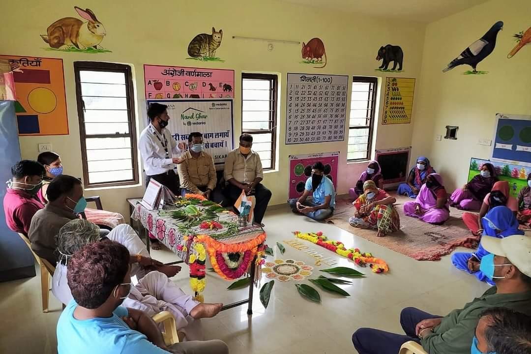 Vedanta's Nand Ghar ,'Kuposhan mukt Bharat'
