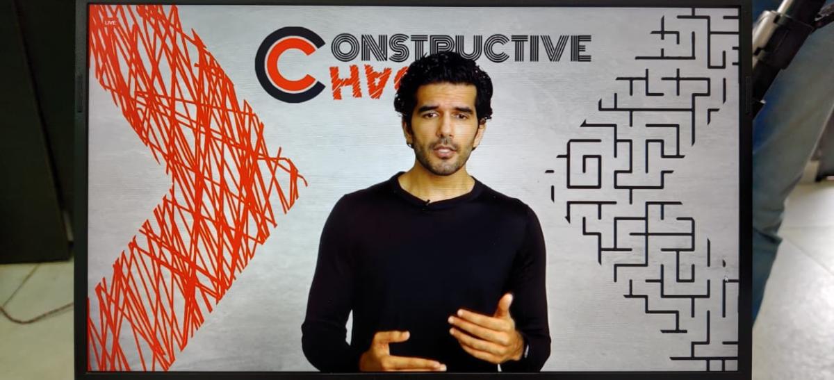 TEDX GGDSD College , 'Constructive Chaos'