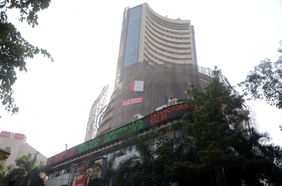 Sensex, Nifty end in red amid volatility, Bharti Airtel down 8%