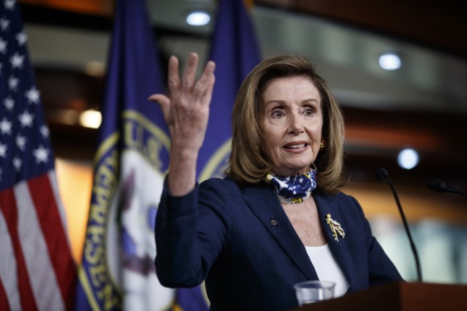 Trump taxes are 'national security' issue Nancy Pelosi