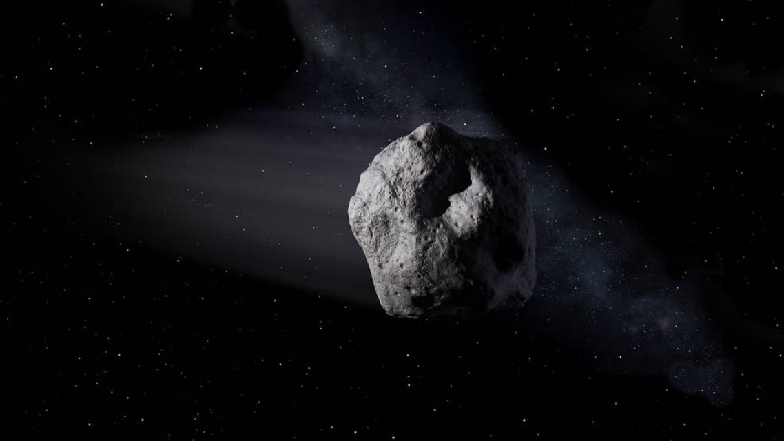Airplane-size asteroid to cross Earth's orbit