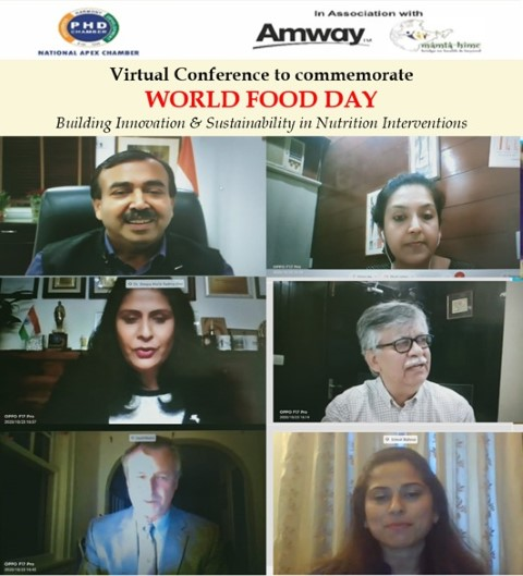 Amway India celebrates World Food Day in partnership with PHDCCI &Mamta HIMC