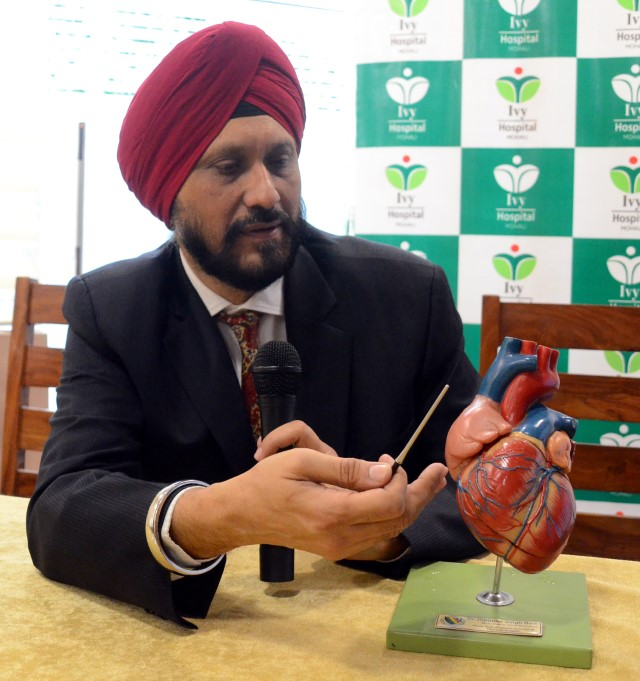 Mohali cardiac surgeon to present case papers in US