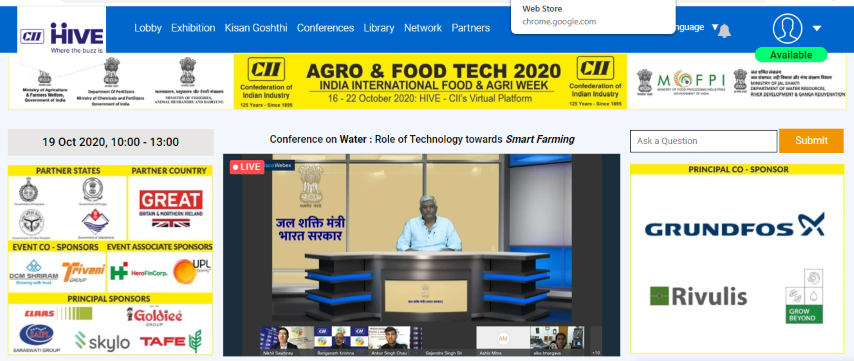 Govt is working toward making agriculture profit-centric&strengthening post-harvest infrastructure-Gajendra Singh Shekhawa