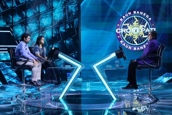 There will be challenges, but being consistent will give u good results,say Gyanendra Purohit&Monica Purohit on Karamveer episode of KBC