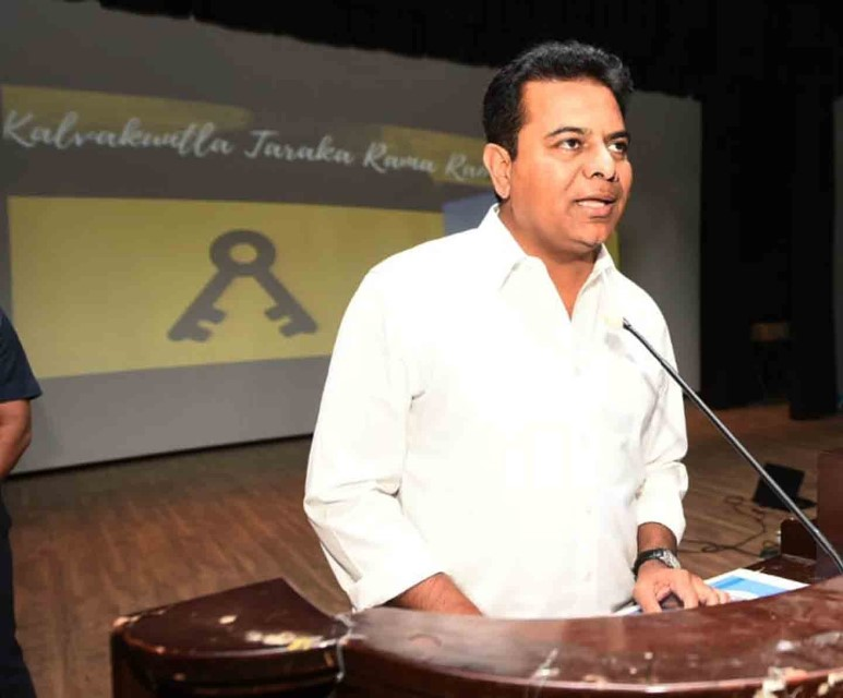 KTR flags off more ambulances under 'Gift a smile' initiative