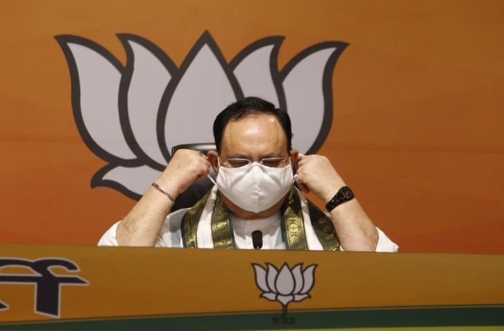 Nadda hits out at Rahul, Chidambaram, says 'Divide India' dirty tricks