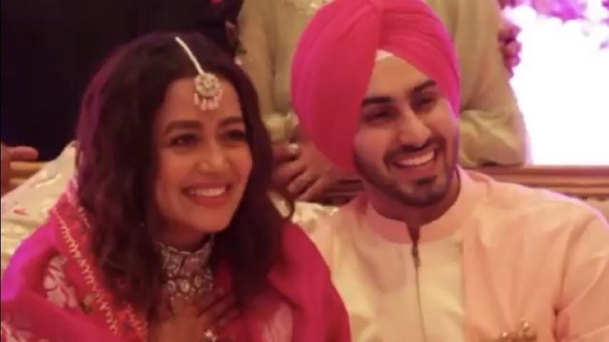 Neha Kakkar shares video of Roka ceremony with Rohanpreet Singh