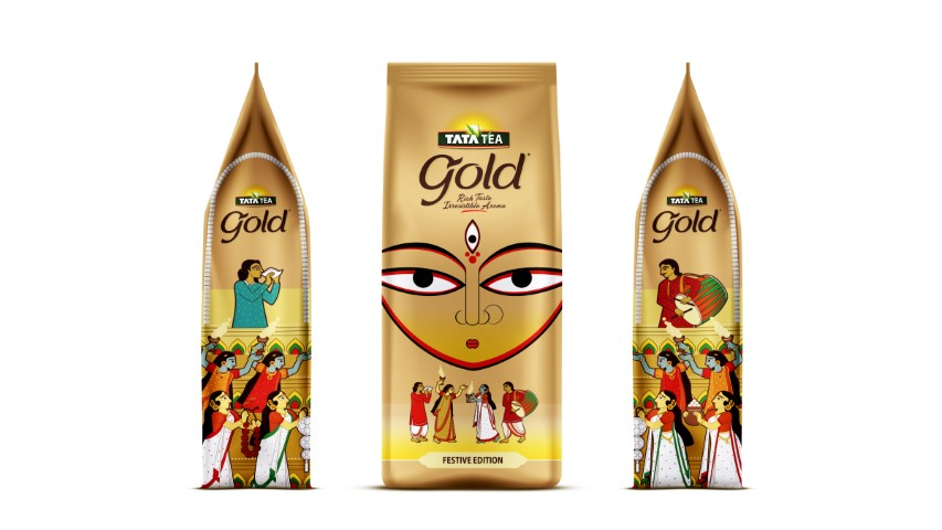 Tata Tea Gold pays sincere ode to revered exuberance associated with Durga Puja&West Bengal's art&culture