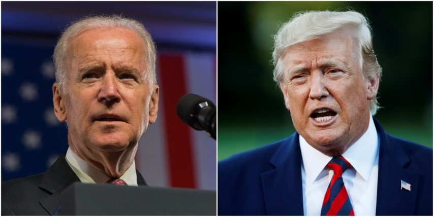 With 18 days to go, Biden leads Trump in crucial battleground polls