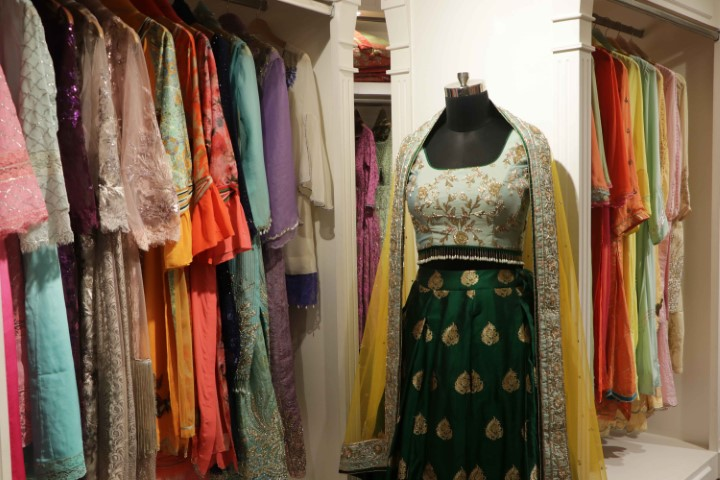Designer Rupam Grewal showcases Jaamawar Minx's 'Festive Collections' 'Mulberry Tales' and 'Star Dust'