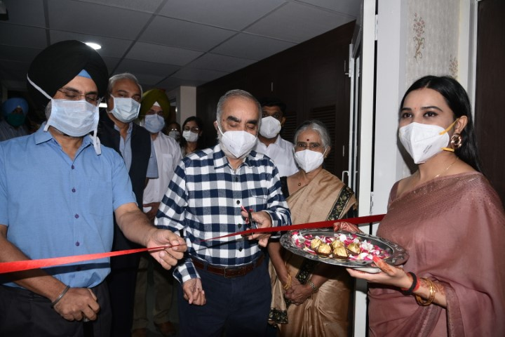 Fortis Mohali gets Advanced Physiotherapy Department