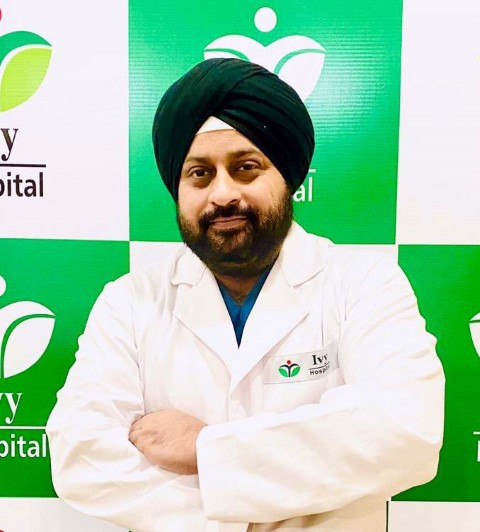 Dr. Bhanu joins Ivy Hospital as director ortho