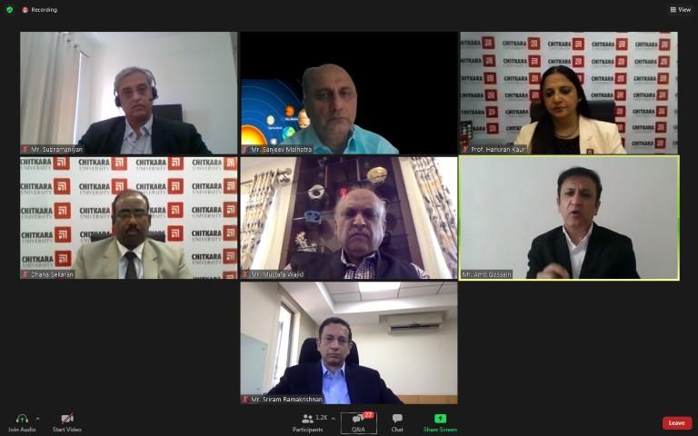 Leadership talk on Atmanirbhar Bharat organised at Chitkara University