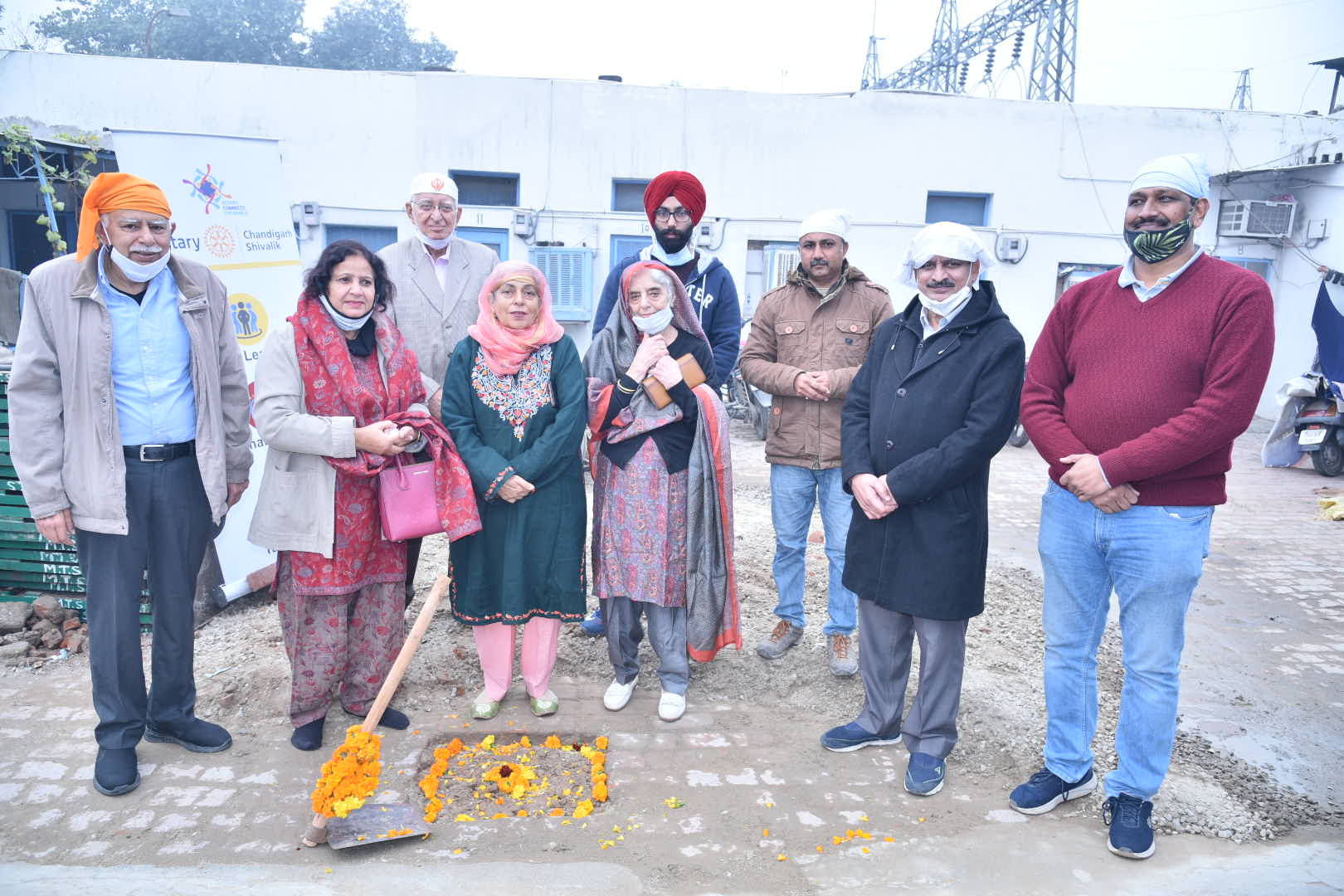 Water conservation project ROTA-RAIN SAVER launched