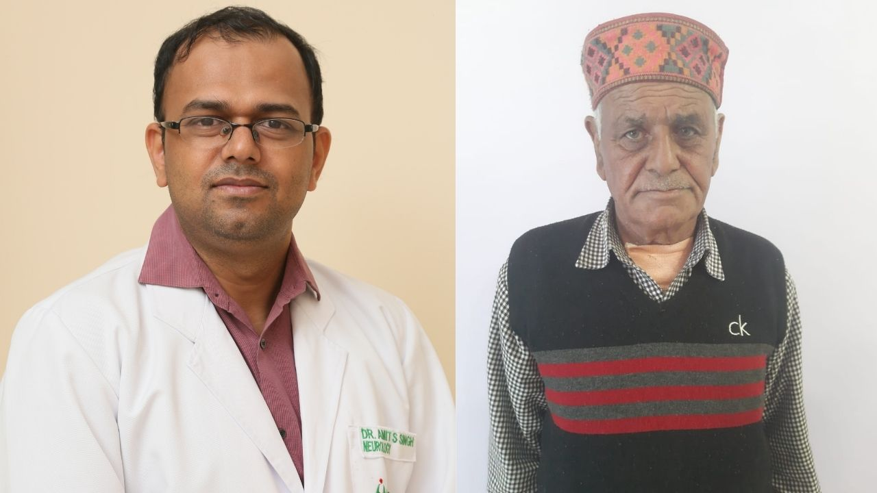 Doctors at Fortis Hospital Mohali save a Septuagenarian Patient from a Deadly Stroke