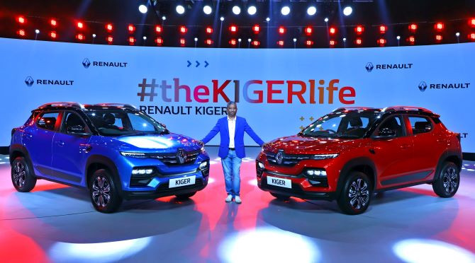 Sporty Smart Stunning Renault KIGER makes its Debut in India