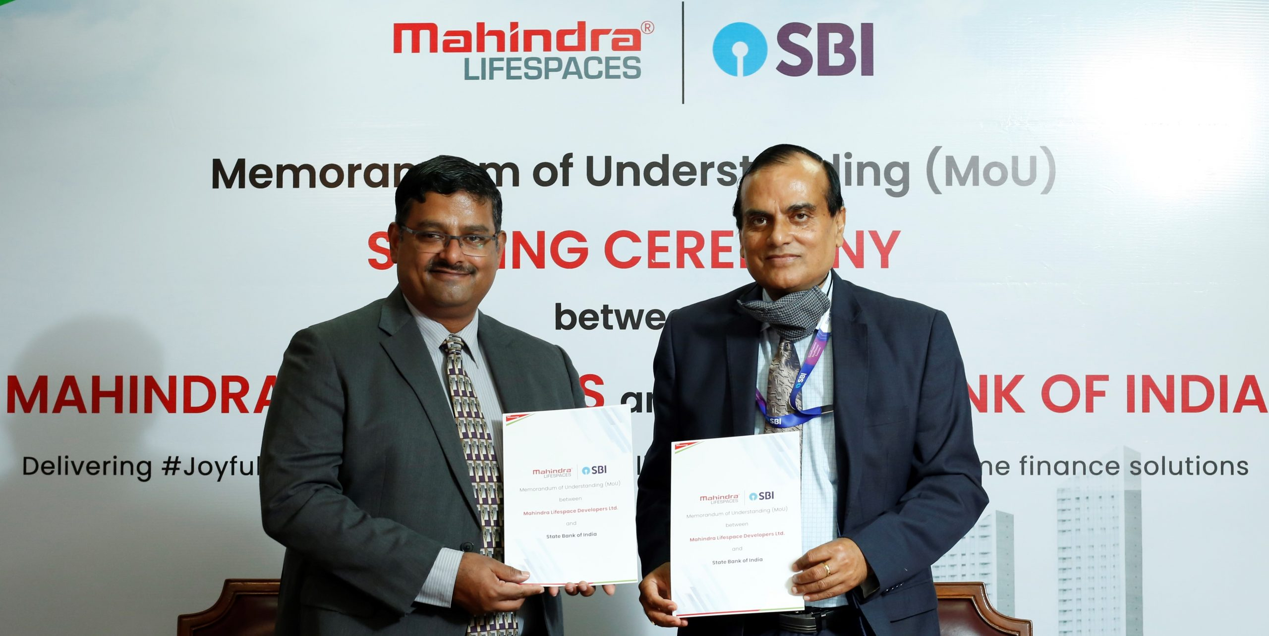 Mahindra Lifespaces signs MoU with State Bank of India
