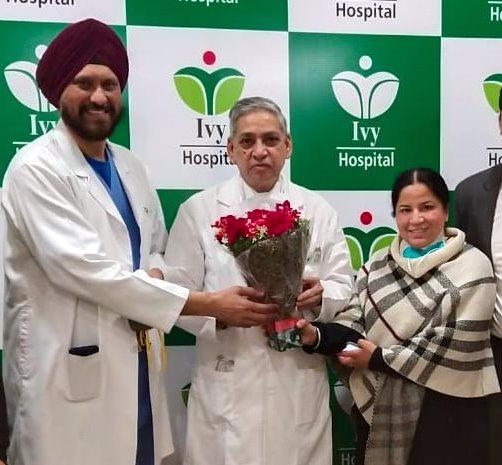 Dr. KK Talwar joins Ivy Hospital