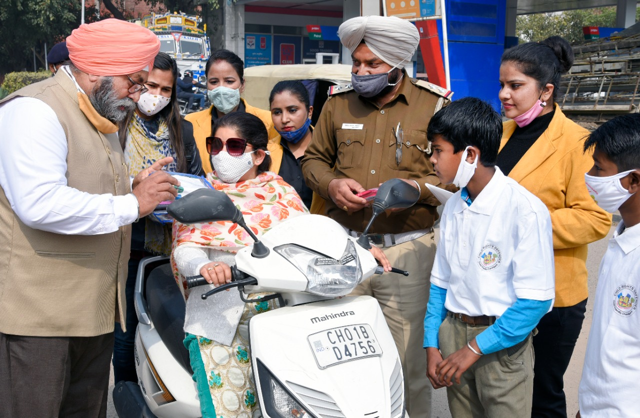 Public awareness campaign to follow traffic rules