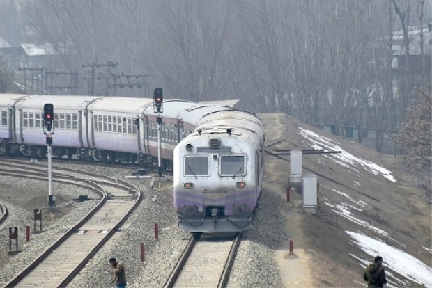 Train services resume in Kashmir Valley