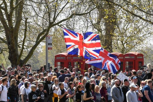 Anti-lockdown protesters defy restrictions in central London march