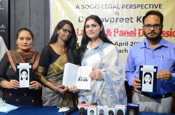 Dr. Navpreet Launches Her Book -Acid Attacks on Women