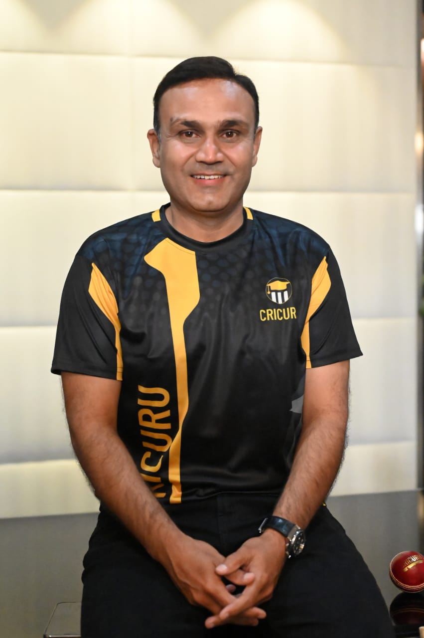 Virender Sehwag launches India's first Experiential learning website for Cricket –CRICURU