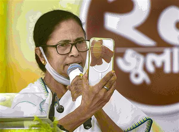 """Mamata sets ball rolling for anti-BJP front, asks SC to set up SIT for snooping probe  Accusing Prime Minister Narendra Modi of wanting to turn the country into a """"surveillance state"""", West Bengal Chief Minister Mamata Banerjee on Wednesday appealed to the opposition parties to unite against the BJP to oust the saffron party in the next Lok Sabha elections.  Mamata, who was making an online address on the Martyrs' Day, urged NCP leader Sharad Pawar and Congress leader P Chidambaram to convene a meeting of opposition parties in Delhi next week to take forward the idea of constituting a united front.  She also asked the Supreme Court to take cognisance of the Pegasus snooping scandal that allegedly targeted activists, politicians, journalists and even judges using spyware. """"There are three important things in a democracy —media, judiciary and the Election Commission — and Pegasus has captured all three,"""" said Mamata.  """"Save the country, save our democracy. Can't you (SC) take suo motu cognisance as all phones are tapped? Please set up a panel to probe. Only judiciary can save the country,"""" she said, appealing to the apex court to come to the nation's aid.  The Chief Minister said she was unable to speak to Pawar, Chidambaram or other opposition leaders or chief ministers as all of them were allegedly being snooped and spied on by the Centre. """"But snooping on us won't save them in the 2024 Lok Sabha polls,"""" she said.  The Chief Minister said she would be coming to Delhi next week and if Chidambaram and Pawar could convene the meeting on July 27 or during the next two days, she would attend it and """"talk about where the country was heading"""".  Chidambaram and Pawar were among the opposition leaders who had assembled at the Constitution Club in New Delhi where the Trinamool Congress had organised live-screening of Mamata's address from Kolkata. Others present included Samajwadi Party MPs Ram Gopal Yadav and Jaya Bachchan; Manoj Jha (RJD), Priyanka Chaturvedi (Shiv Sena) an"""