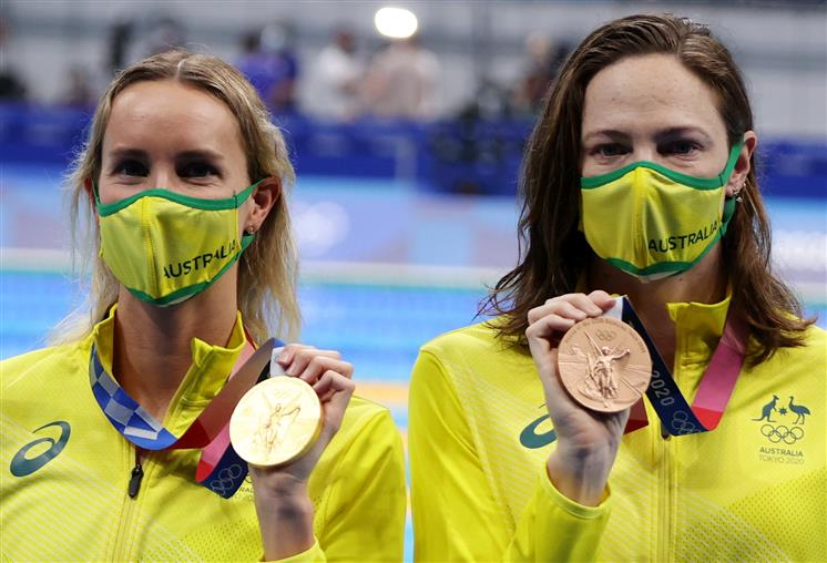 Olympic first: Men women to swim together in the same race
