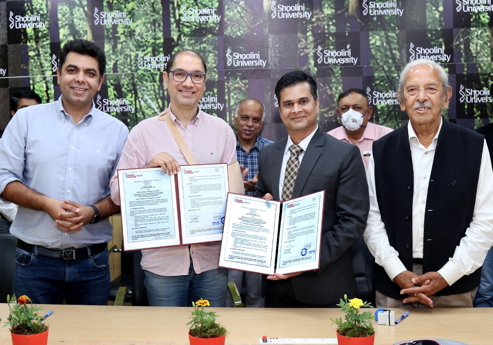 Shoolini signs prestigious MoU with centrally sponsored IT hub