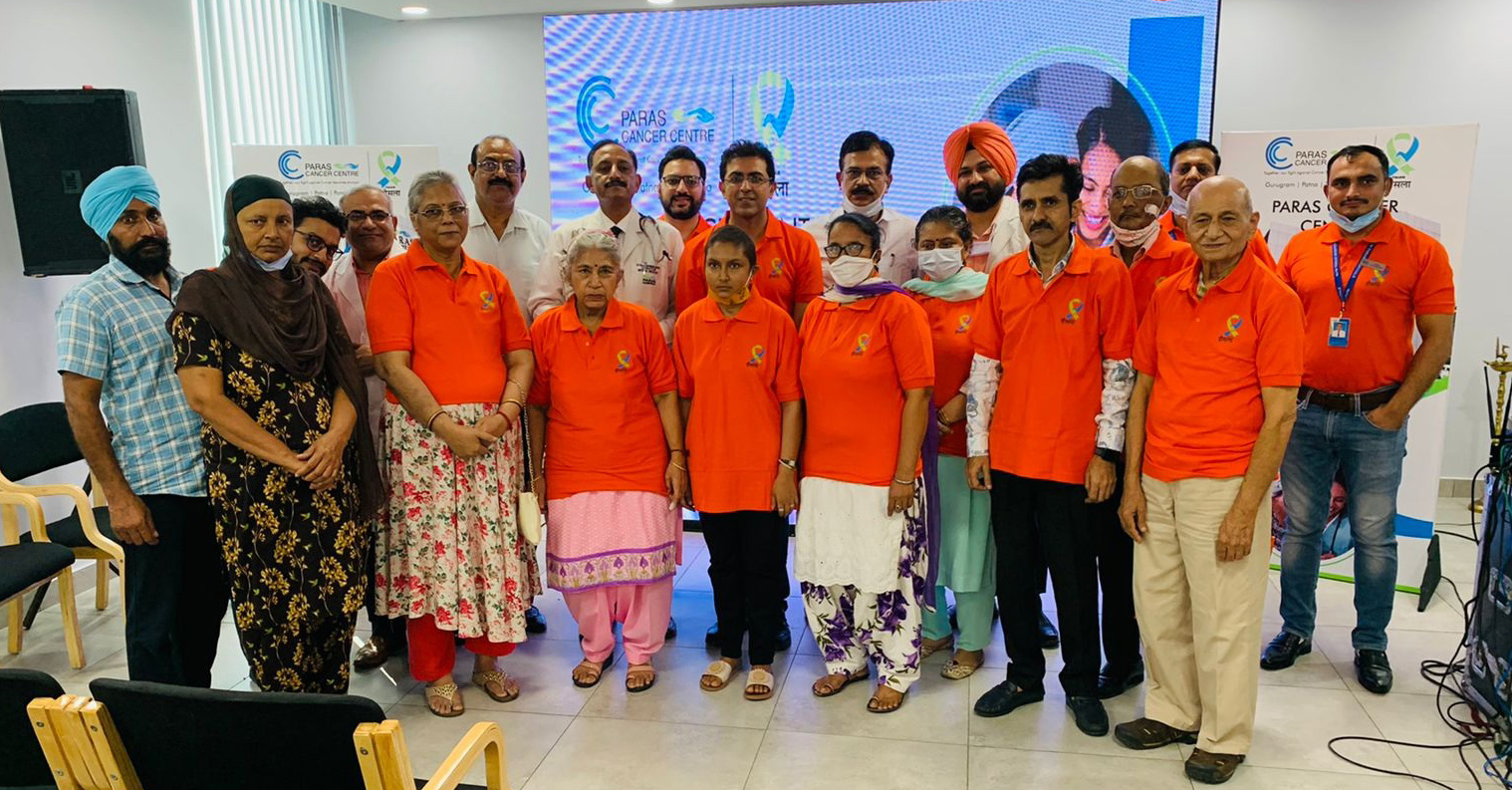 Paras Hospital Initiates 'Hausla'- a support group for cancer patients