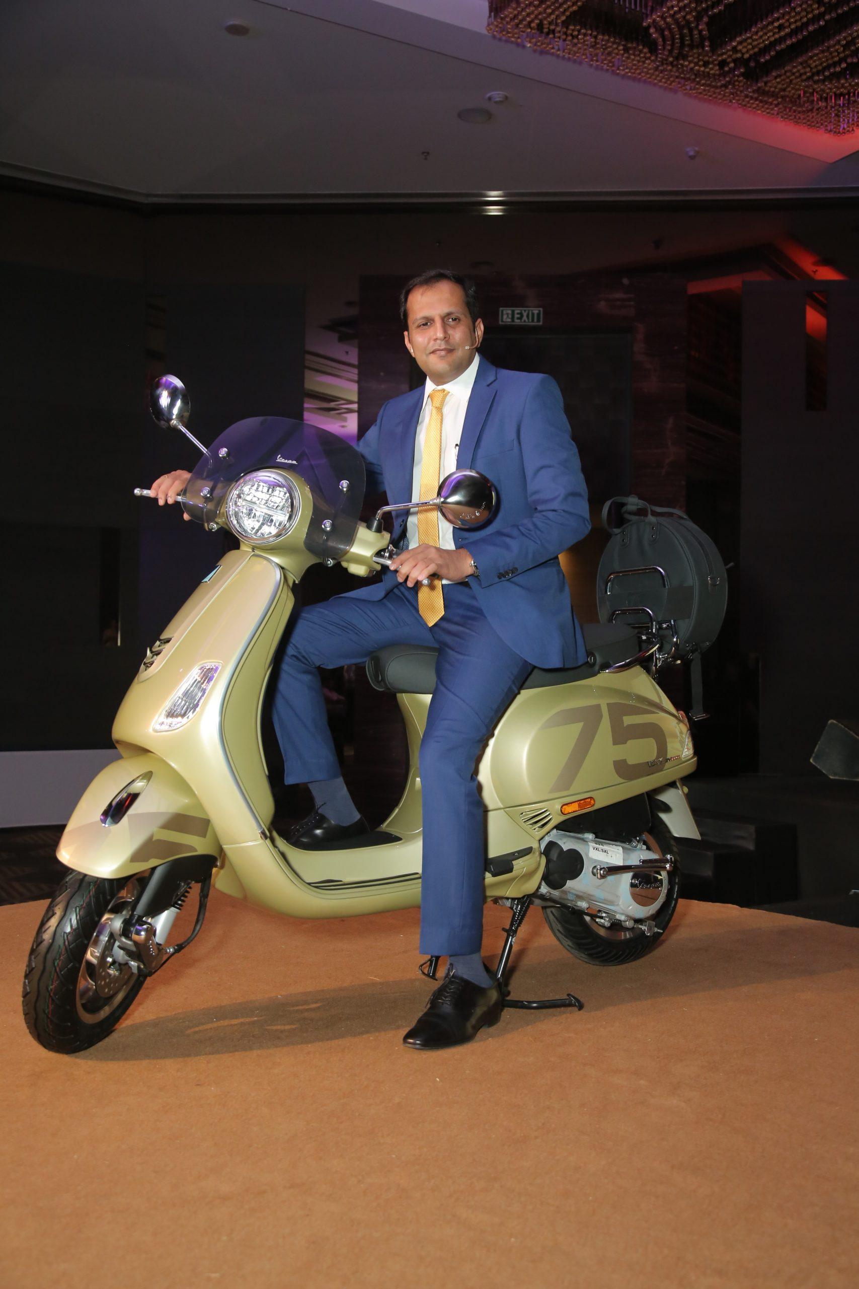 Piaggio India Celebrates glorious 75 years of iconic Vespa